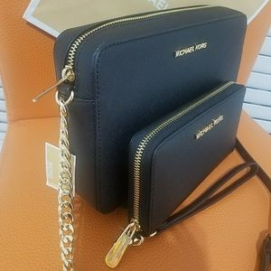 SALE new set wallet+crossbody bag michael